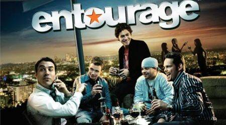 Mysterious 'Entourage' poster haunts an Indian restaurant