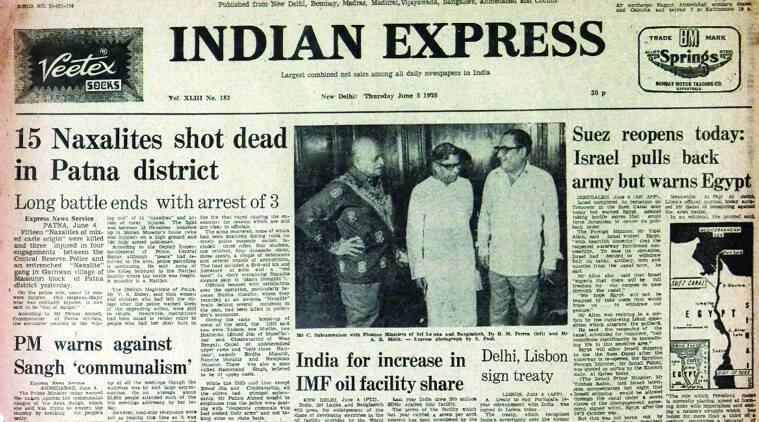 Indian express, Indian express front page, express front page