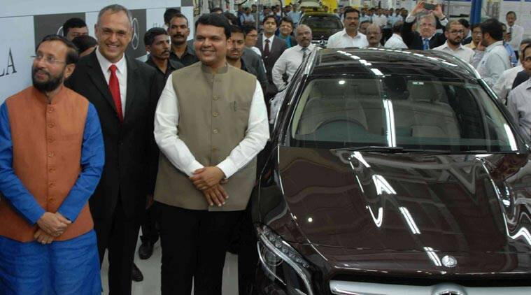 Phase Ii Of Mercedes Plant Inaugurated In Pune Business News The