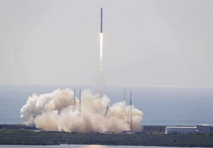 SpaceX Falcon rocket, SpaceX Falcon rocket explosion, NASA rocket explosion, US NASA rocket explosion, US rocket explosion, SpaceX Falcon rocket explosion, NASA, NASA news, SpaceX Falcon rocket explosion news, indian express news