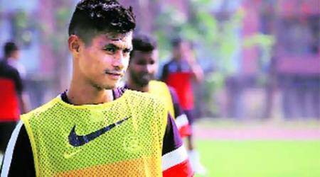Late bloomer Eugeneson Lyngdoh takes a shot in the right direction