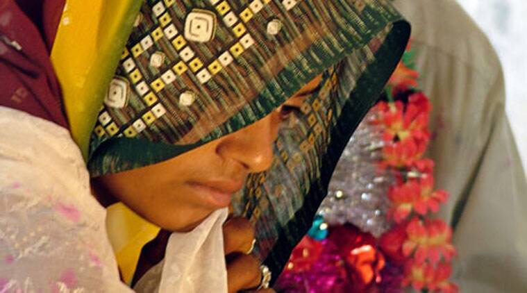 child marriage, girls marriage, underage girls marriage, girl child marriage, girl wedding, women marriage, girl child wedding, wedding girl, marriage girl, indian express explained, indian express