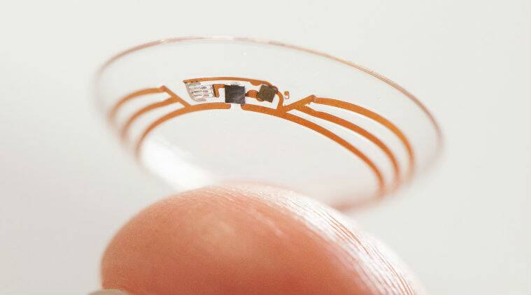 Google Contact Lens, Google Smart Lens, Google Contact lens of Diabetics, Google Smart lens for Diabetes, Google, Google Inc., Google News, Google Technology, Technology, Science and Technology, Science news, Technology news