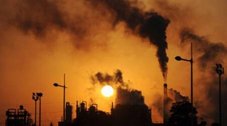 greenhouse gas, greenhouse gas emissions, manufacturers producing greenhouse gas, greenhouse effect, HFC-23, HCFC-22, India news, latest news, indian express