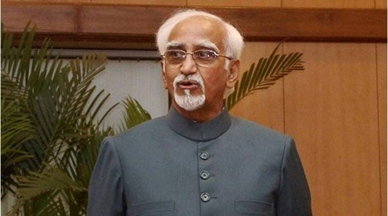 hamid ansari, hamid ansari row, Hamid ansari controversy, ansari yoga day invite, yoga day ansari invitation row, yoga day invitation row, yoga day, international yoga day, PM Modi, Narendra Modi Yoga day, Ram Madhav yoga day,