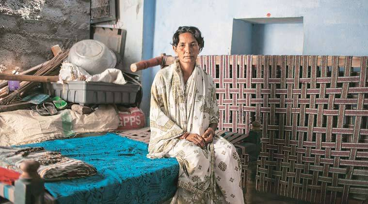 """""""We debated how to take her to hospital as autorickshaws are infrequent and there is no other means of transport. Within minutes, my daughter was dead,"""" says Saidibai. The nearest primary health centre or hospital is 30 km away."""