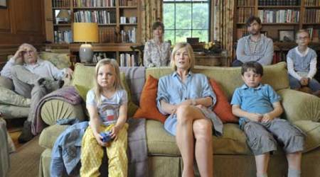 What We Did On Our Holiday, What We Did On Our Holiday movie, What We Did On Our Holiday review, What We Did On Our Holiday movie review, Rosamund Pike, David Tennant, Billy Connolly, Ben Miller, Emilia Jones, Bobby Smalldridge, Harriet Turnbul, Andy Hamilton, Guy Jenkin
