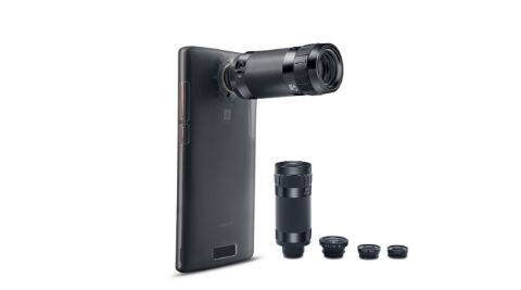 iBall, iBall mSLR Cobalt 4, iBall mSLR Cobalt 4 review, iBall mSLR Cobalt 4 specs, iBall mSLR Cobalt 4 price, iBall mSLR Cobalt 4 flipkart, smartphone lens kit, smartphones technology news