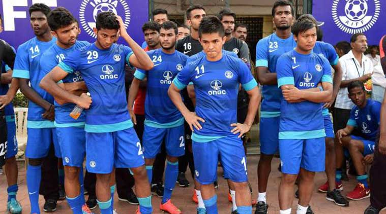 football, Indian football team, football team india, 2018 World Cup qualifying match, football national team,  All India Football Federation, AIFF, Indian football team defeat, indian express editorial