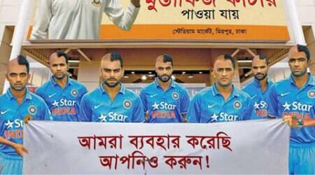 Leading Bangladesh daily ridicules Indian cricketers