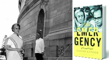 Emergency: A Personal History , Coomi Kapoor, Indira Gandhi, Emergency, Virendra Kapoor, L K Advani, book book review, Indian Express