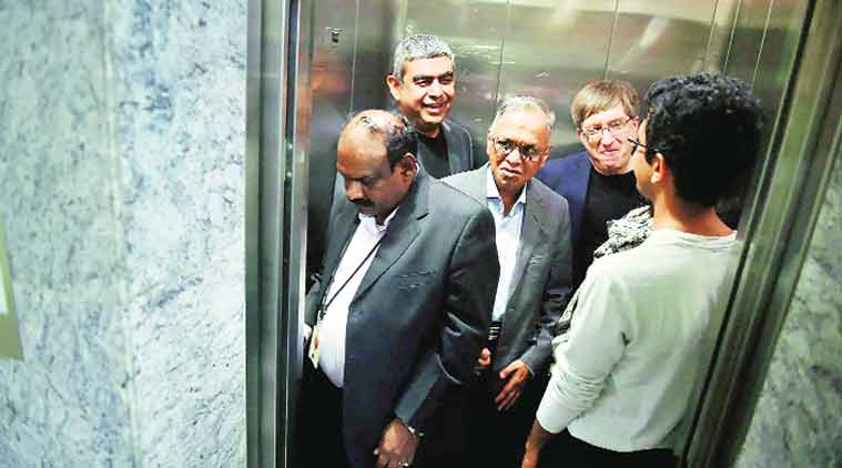 Infosys, Vishal Sikka, Infosysis Vishal Sikka, Infosys revenue, indian express, business news