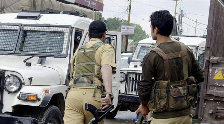 Image result for Police officers Jammu & Kashmir