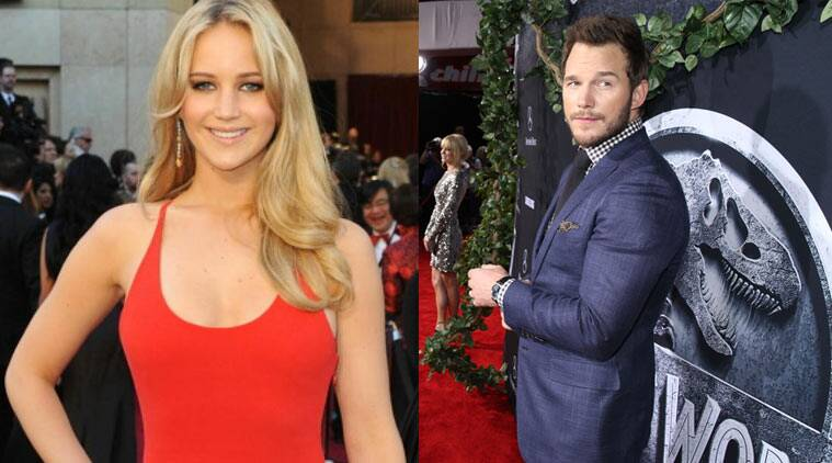 Jennifer Lawrence, Chris Pratt, Passengers, Jurassic World