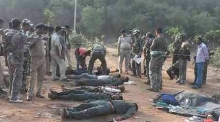 Four children among 12 'Maoists' killed by CRPF, Jharkhandpolice