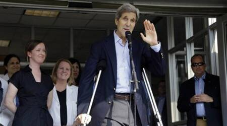 US, US news, John Kerry, US Secreatary, US John Kerry, John Kerry US John Kerry news, US State secreatary, John kerry injury, John Kerry leg injury, Amnericas news, international news