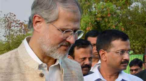 aap, aam aadmi party, aap news, najeeb jung, najeeb jung aap, somnath bharti, arvind kejriwal, somnath bharti case, india news