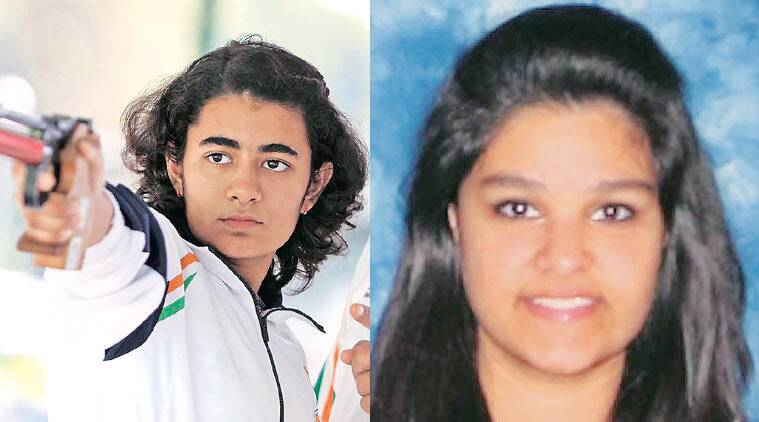 Junior women's 10m, Yashaswini Deswal, Gauri Sheoran, junior women's 10 M air pistol, Shreya Gwande, Junior World Cup in Suhl, Chandigarh news, sports news, Junior cup news, City news, local news, india  news