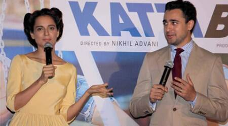 Katti Batti, Kangana Ranaut, Imran Khan, Kangana Imran, Kangana katti Batti, imran katti Batti, Kangana Imran Katti Batti, Katti batti trailer, Katti Batti trailer launch, kangana Ranaut Imran Khan, Entertainment news