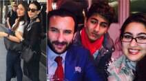 kareena kapoor, karisma kapoor, saif ali khan, karishma kapoor, ibrahim khan pataudi, ibrahim, sara khan pataudi, sara, saif ali khan kids, kareena saif, saif ali khan kareena kapoor, saif kareena, saif kareena pictures, kareena kapoor london, karisma kapoor london, kareena karisma london, entertainment, bollywood