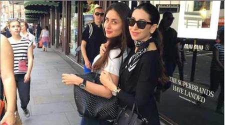 Kapoor Ladies: Karisma, Kareena on holiday in London