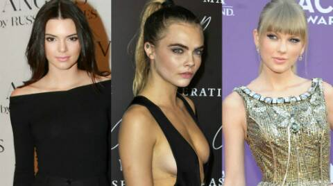 Kendall Jenner Cara Delevingne Serena Williams Join Taylor Swift For Style Entertainment News The Indian Express