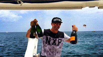 KP's 35th b'day bash in the Caribbean