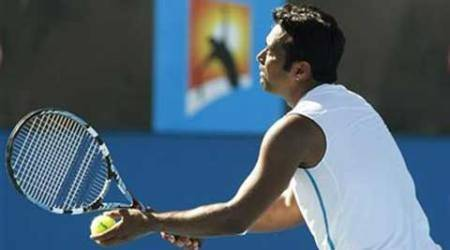 Leander Paes wins with 100th doubles partner to reach Aegon Open quarters