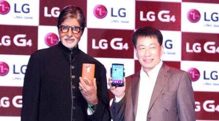 LG Electronics, Amitabh Bachchan, LG G4 launch, smartphones, technology news