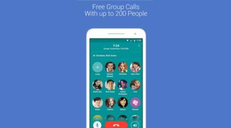 Popcorn Buzz allows group call with 200 friends forfree