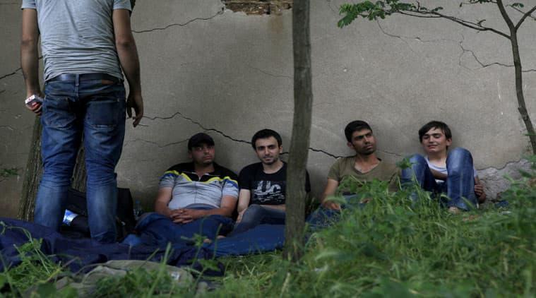 europe migrants,  europe news, Macedonia, Macedonia news, migrants, syrian migrants, iraq migrants, 148 migrants in Macedonia, Macedonian police, migrants in europe, europe news, world news