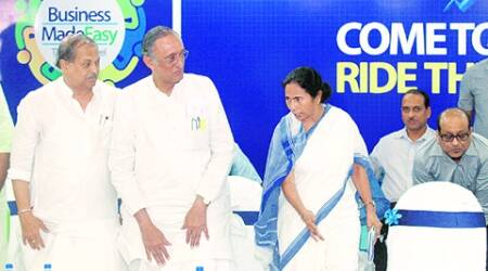 Mamata Banerjee, West Bengal CM, Didi, Business Made Easy: The Next Level, Kolkata Business seminar, mamata at business seminar, business seminar in Kolkata, west bengal business, kolkata news, west bengal news, bengal news, india news, indian express