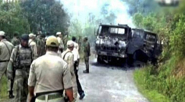 manipur attack, manipur army attack, ambush attack, attack on army in manipur, militant attack in manipur, militant attack manipur, Manipur militant attack, Terrorist attack on army in manipur, ambush attack in manipur, manipur ambush attack, manipur news, manipur news latest, manipur latest news update