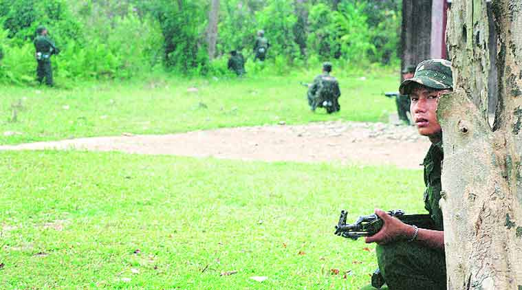 Manipur ambush, manipur miltant attack, Niki Sumi, manipur miltant ambush, NSCN (Khaplang), KYKL, KCP,  S S Khaplang, 6 Dogra Regiment, manipur army attack, manipur militant army attack, NSCN (K), Myanmar NSCN (K),  NSCN (K) Myanmar, indian express explained, militants manipur ambush, northeast militant attack, Myanmar militants manipur ambush, indian express news, india news, nation news