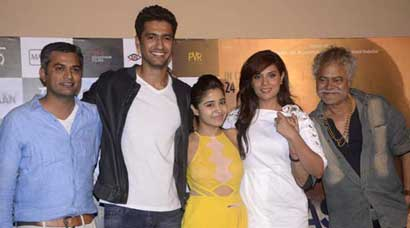 'Masaan' trailer launch: Richa Chadha, Shweta Tripathi, Sanjay Mishra wish their movie luck