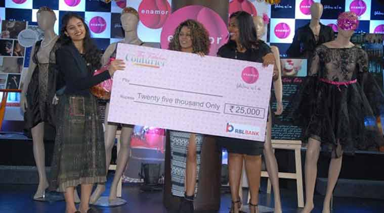 Nift Student Medha Bansal Wins The Debut 2015 Lifestyle News The Indian Express