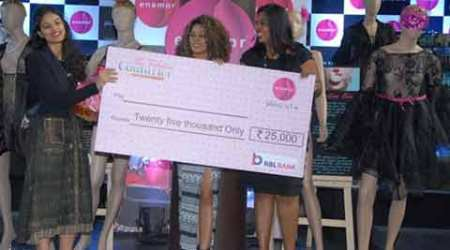 NIFT student Medha Bansal wins The Debut 2015