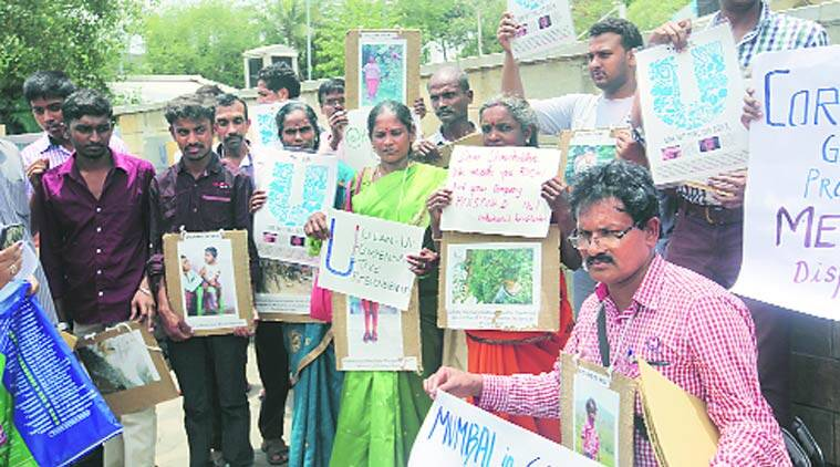 mercury pollution, mumbai pollution, pollution, TN Unit, HUL, TN unit protest, protest, mumbai news, city news, local news, maharashtra news, Indian Express