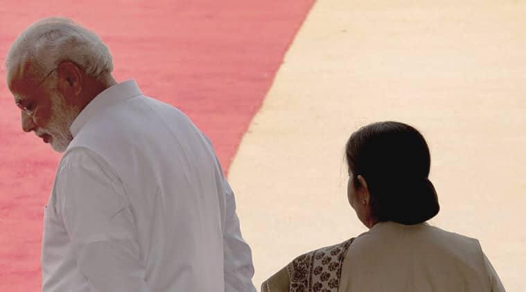 Narendra Modi, Sushma Swaraj, Lalit Modi, bjp government, modi government, Vasundhara Raje, yoga day, lalit modi row, lalit modi sushma swaraj row, lalit sushma Controversy, Pratap Bhanu Mehta column, ie column, indian express column
