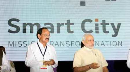 PM Narendra Modi launches Smart Cities Mission