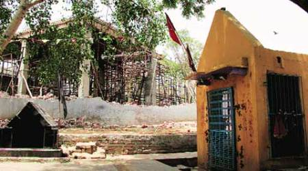 Village won't get to pray at torched mosque for Ramzan