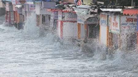mumbai rains, rains, mumbai monsoon, mumbai rain, mumbai water stock, water stock, mumbai news, india news