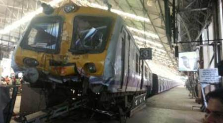 Train rams into buffer, 5 injured