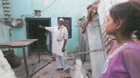 Ballabhgarh communal violence: Muslims return — to torched houses and broken utensils
