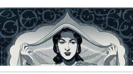 Nargis Dutt, Google Doodle