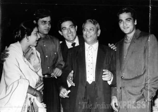 Nargis, Rajendra Kumar, Rajkumar