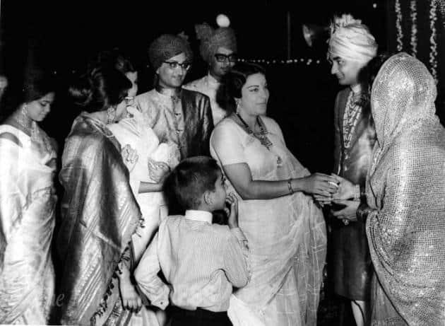 Nargis, Sunil Dutt, Sanjay Dutt