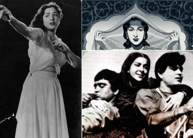 Nargis google doodle, Nargis doodle, Nargis birth aaniversary, Sunil Dutt, Nargis Sanjay Dutt, Nargis Raj Kapoor, Raj Kapoor Nargis, Shree 420, Barsaat, Nargis rare photos