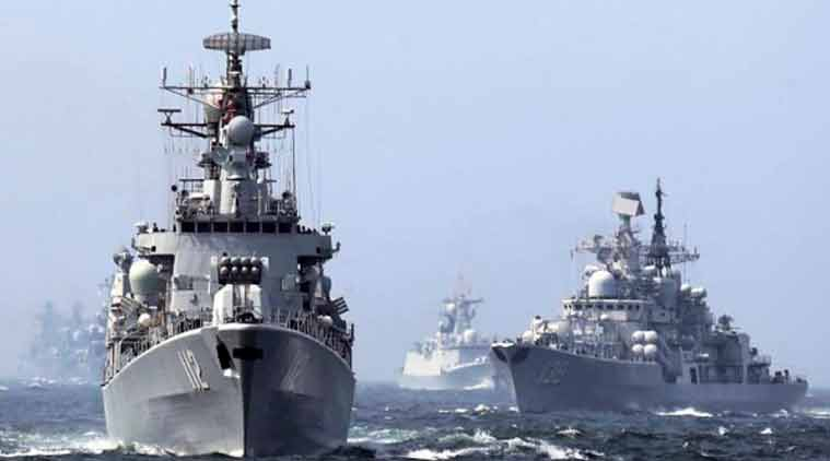 Indian Navy, Exercise Malabar, Japan Navy, US Navy, Navy joint exercise, Navy joint exercise Bay of Bengal, India-US joint erercise, navy Exercise Malabar, indian erpress