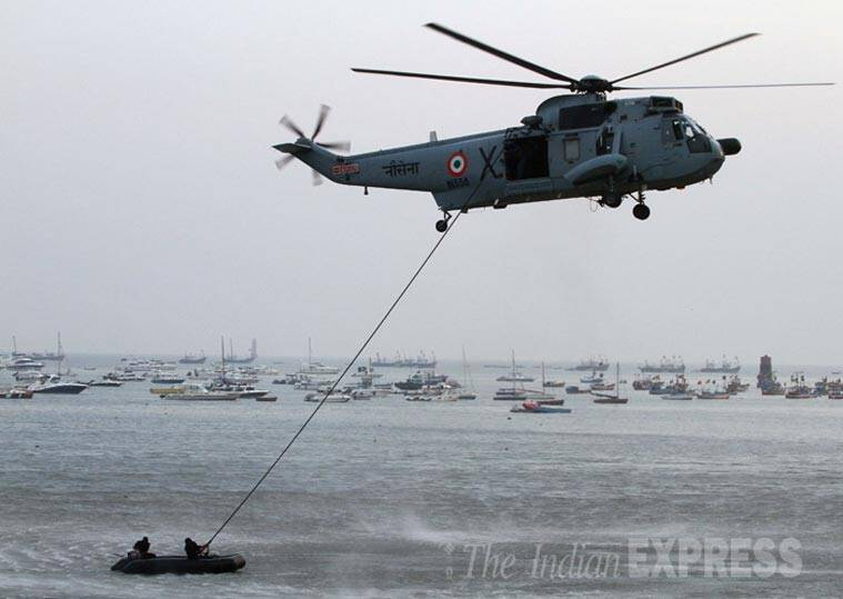 Navy, Indian Navy, Navy rescue operation, Mumbai, Vasai, Vasai merchant ship, Vasai ship rescue, navy vasai, navy vasai rescue, vasai rescue operation, indian navy, navy news, india news, mumbai news, indian express